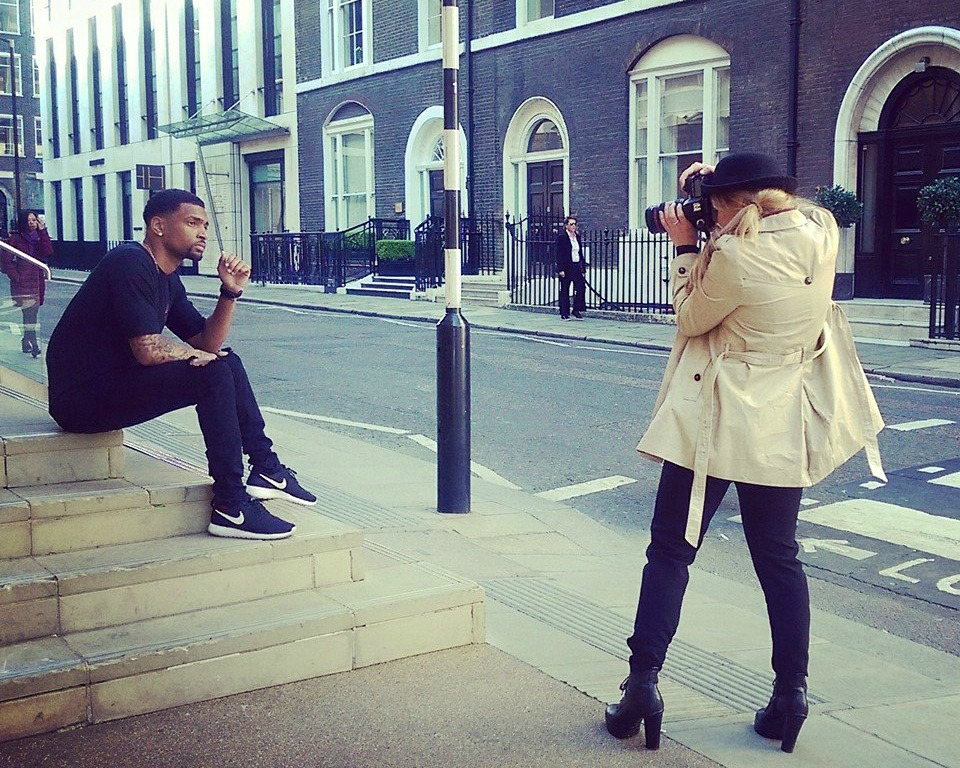 Fotoshooting in London