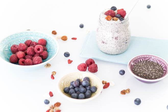 Healthy Chia pudding - all together-18