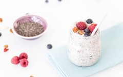 Healthy Chia pudding - chia pudding FI-12