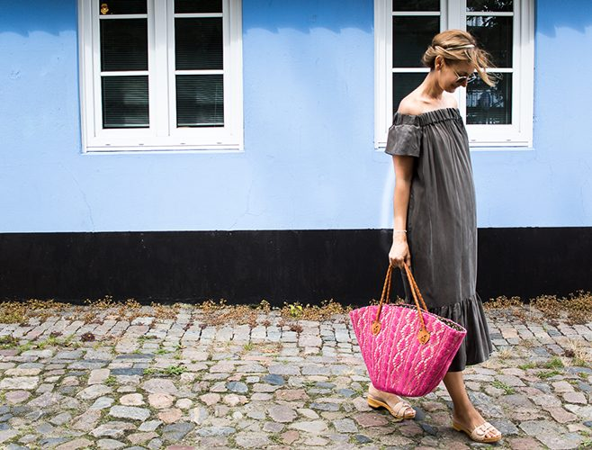 FI off the shoulder summer dress-6441