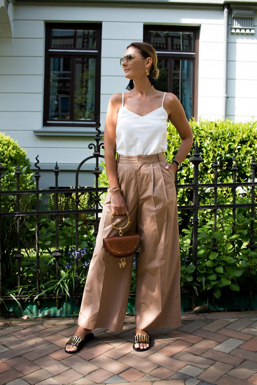 wide leg pants, dior slides, chole bag-2607