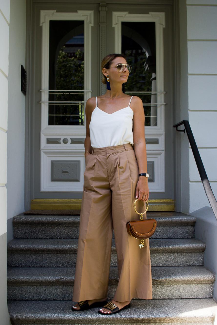 wide leg pants, dior slides, chole bag-3852