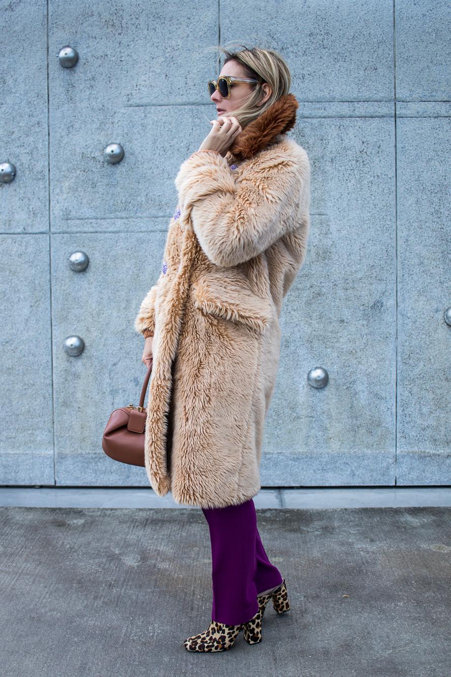 teddy coat, gabriela hearst, leopard mules, miu miu